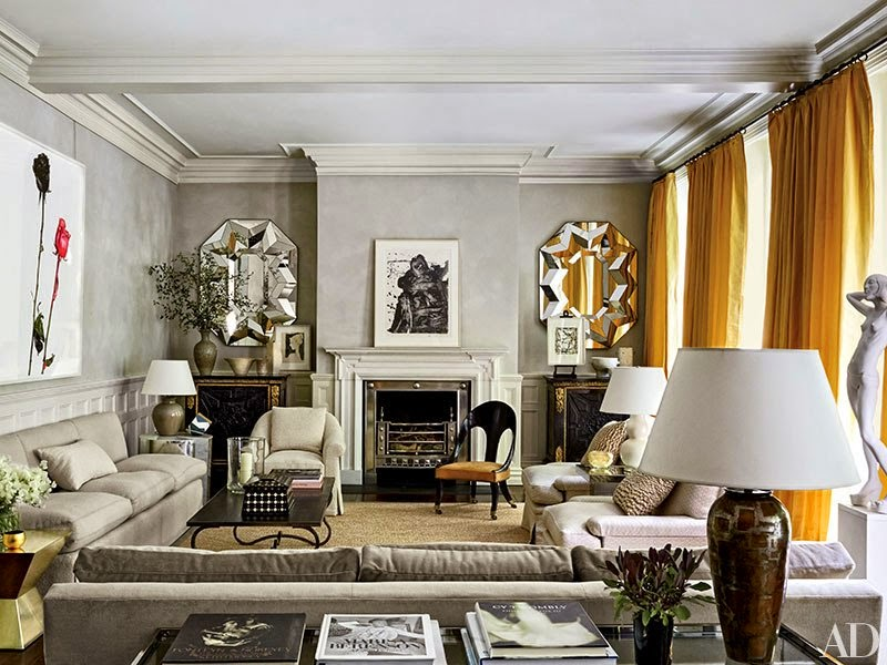 ... Brought In Interior Designer Michael S. Smith To Design Her London  Mansion. She Wanted A Place That Would Be Perfect For Family And  Entertaining, ...