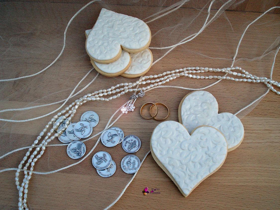 boda, corazón, galletas, galletas corazón, galletas decoradas, galletas fondant, regalo de boda, san valentín, fondant,