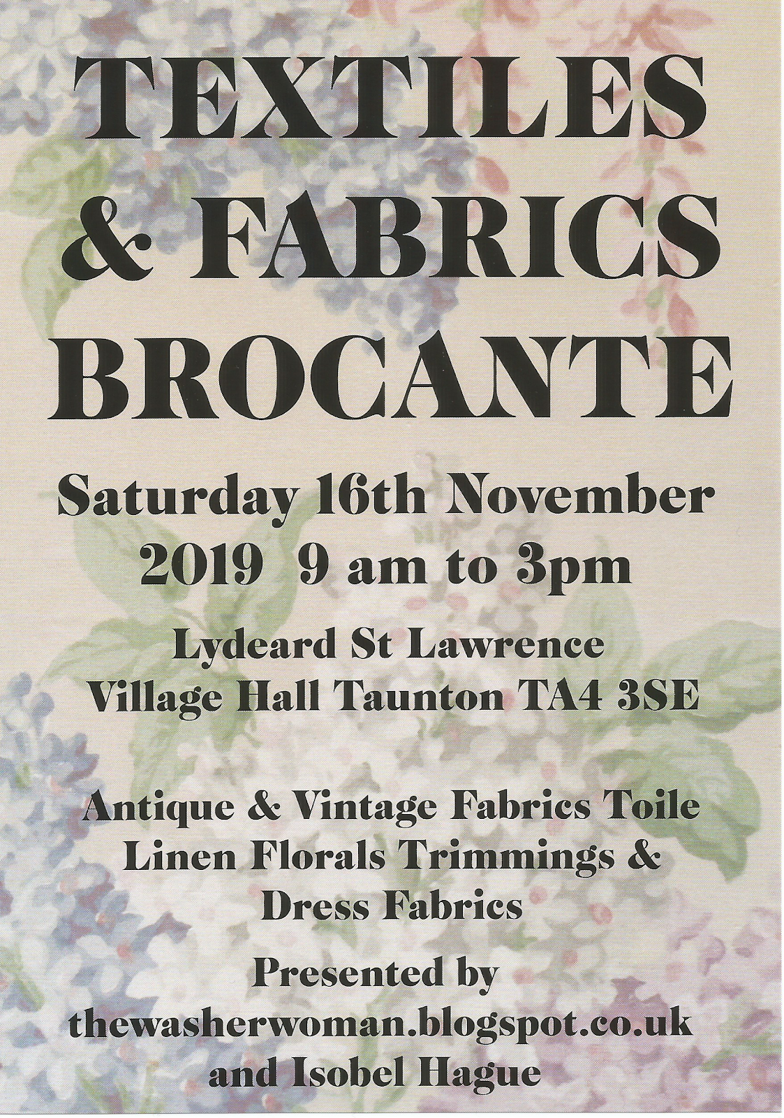 Textiles and Fabric Brocante