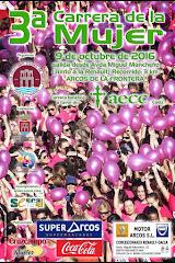 CARTEL 3ª CARRERA DE LA MUJER ARCOS DE LA FRONTERA 2016