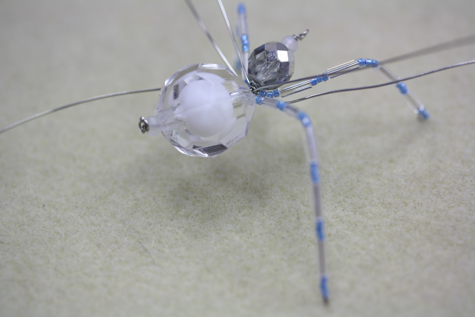 Icy Christmas Spider\
