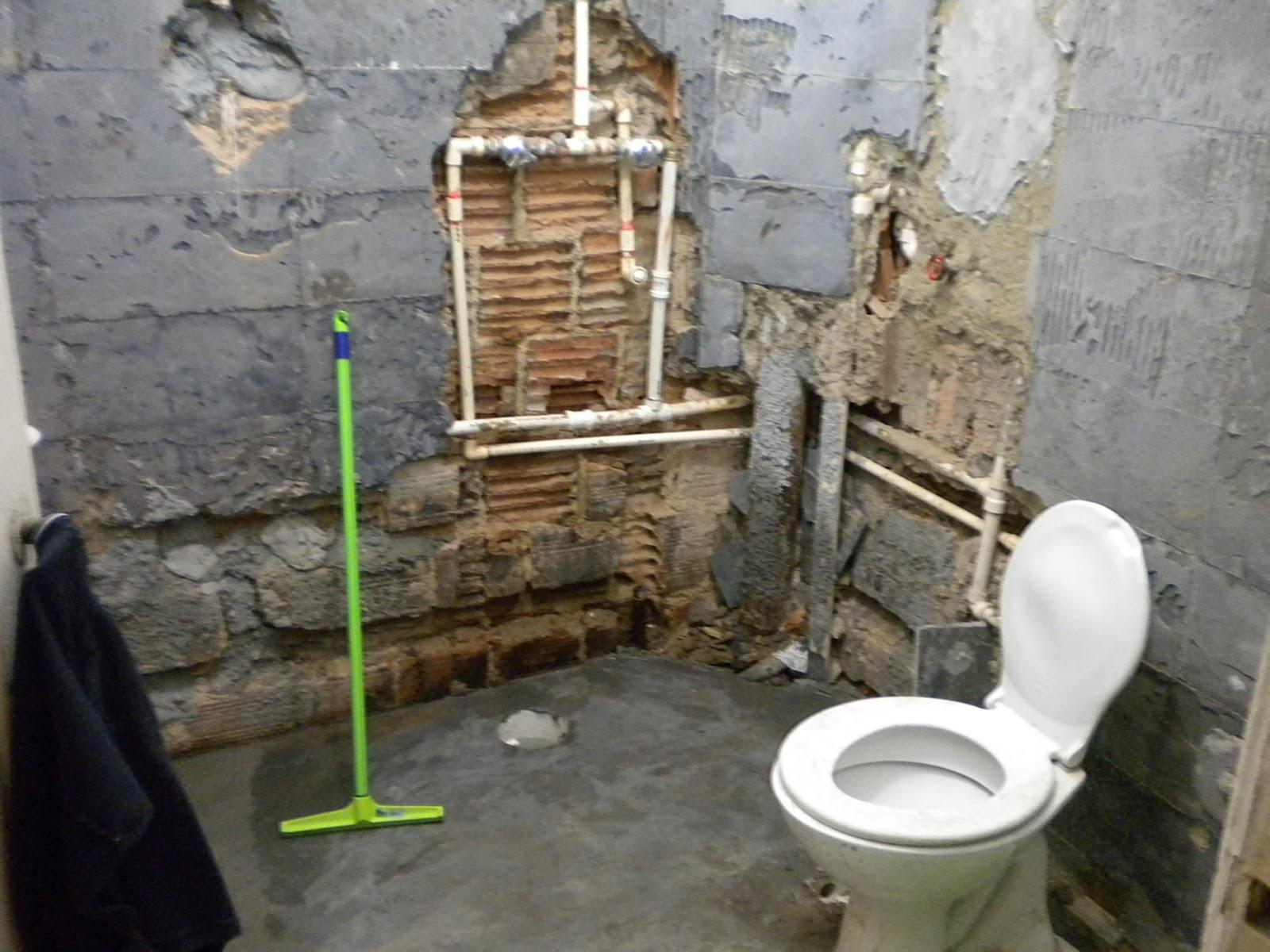 quinta feira 24 de fevereiro de 2011 #699B30 1600x1200 Altura Pontos Hidraulicos Banheiro