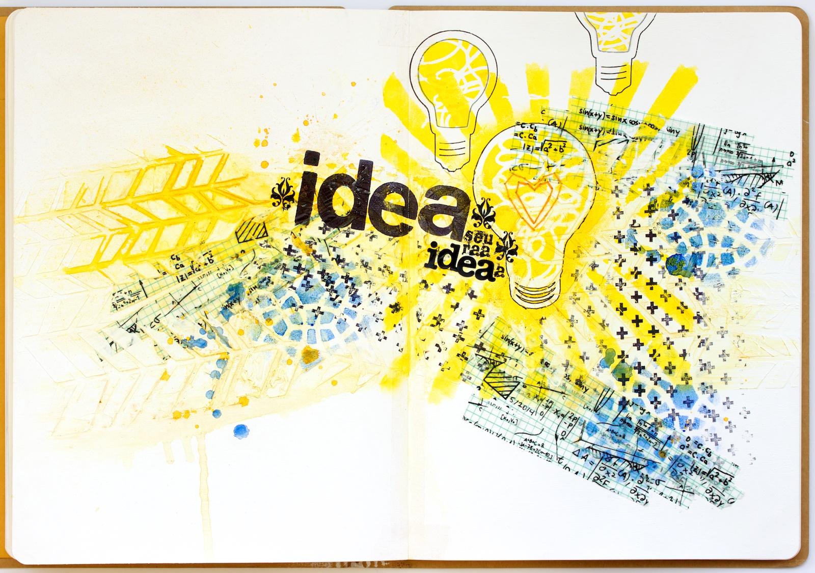 Idea seuraa ideaa