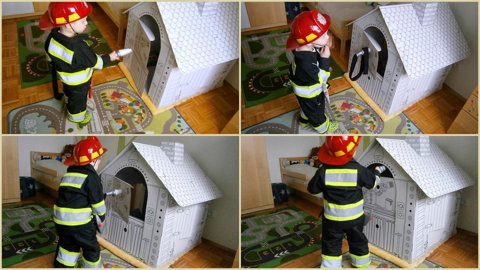 fireman costume DIY