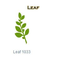 Leaf, Die Cut, Silhouette