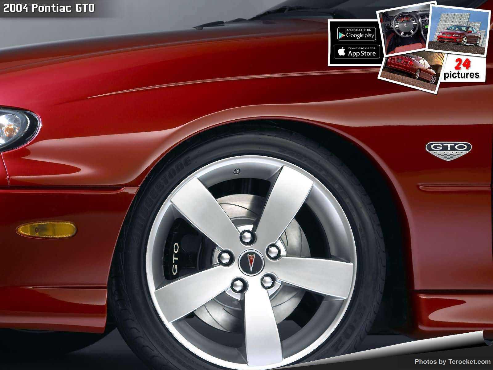 Hình ảnh xe ô tô Pontiac GTO 2004 & nội ngoại thất