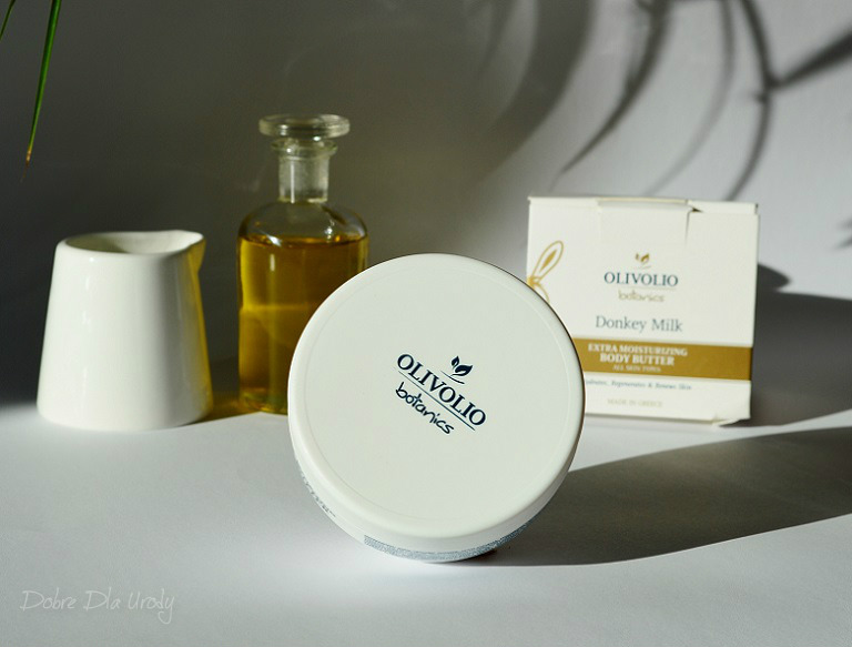 Olivolio Masło do ciała z Organicznym Oślim mlekiem