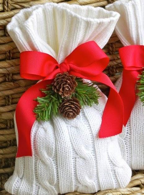 empaques originales para regalos navideos post