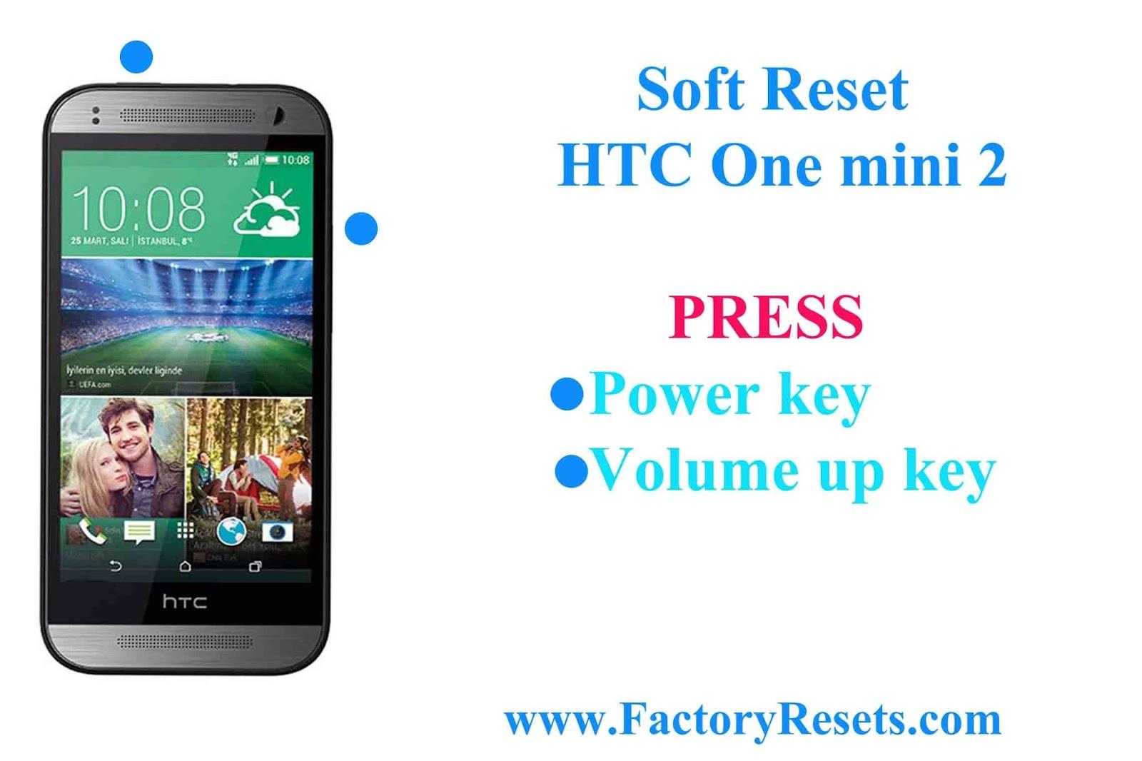 Как сделать хард ресет на htc desire 326g dual sim
