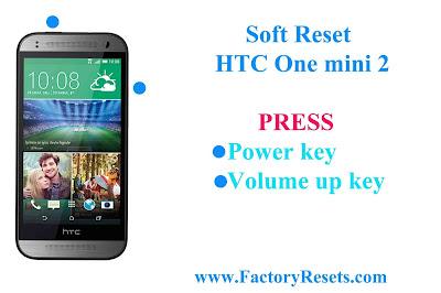 Soft Reset HTC One mini 2