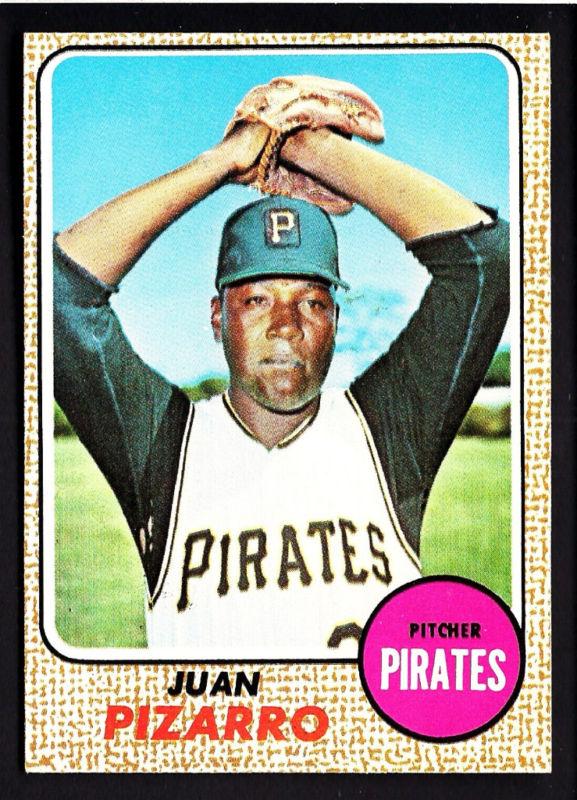 Juan Pizarro 1968 baseball card