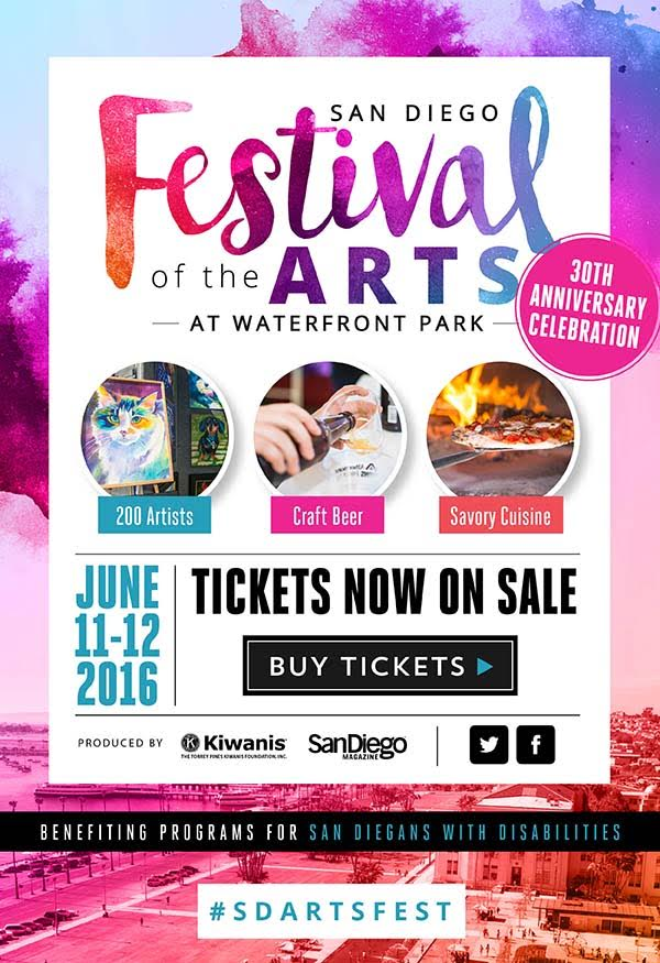Don't Miss The San Diego Festival of Arts On June 11 & 12