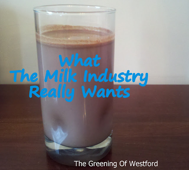 What the Milk Industry really wants