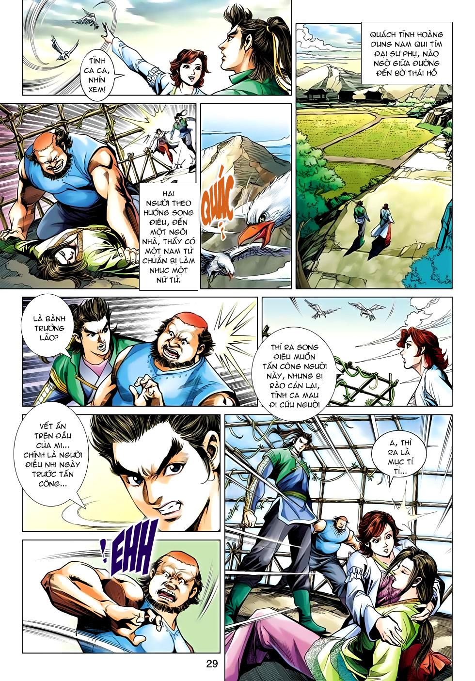 Xạ Điêu Anh Hùng Truyện chap 100 – End Trang 29 - Mangak.info