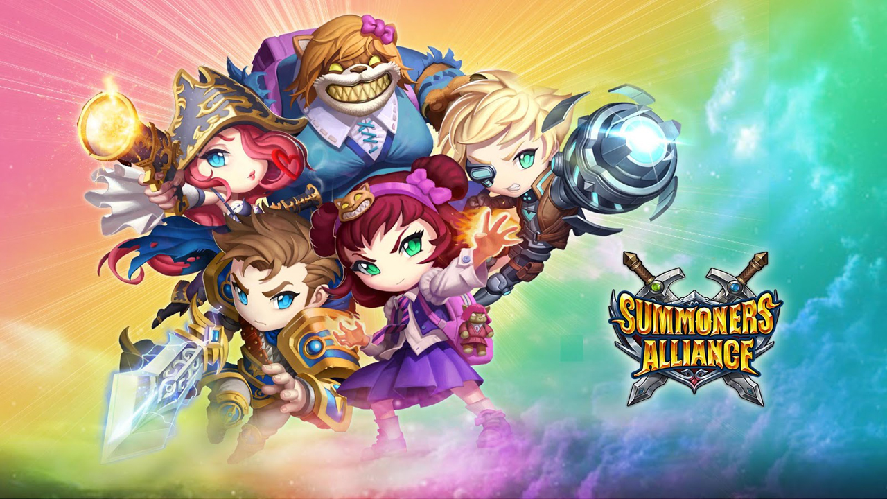 Summoners Alliance Gameplay Android