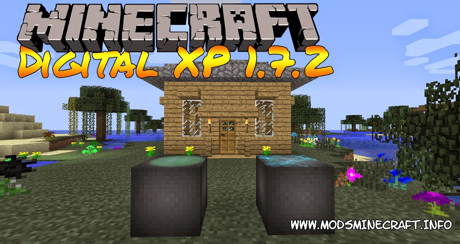 Digital XP Mod para Minecraft 1.710, Digital XP Mod para Minecraft 1.7.2, Digital XP Mod, Digital XP 1.7.2, minecraft Digital XP Mod, minecraft Digital XP 1.7.2, mods minecraft, minecraft mods, mods para minecraft 1.7.2, cómo instalar mods, cómo instalar mods minecraft, minecraft cómo instalar mods, minecraft mod para experiencia, mod para guardar experiencia, minecraft mod para guardar xp