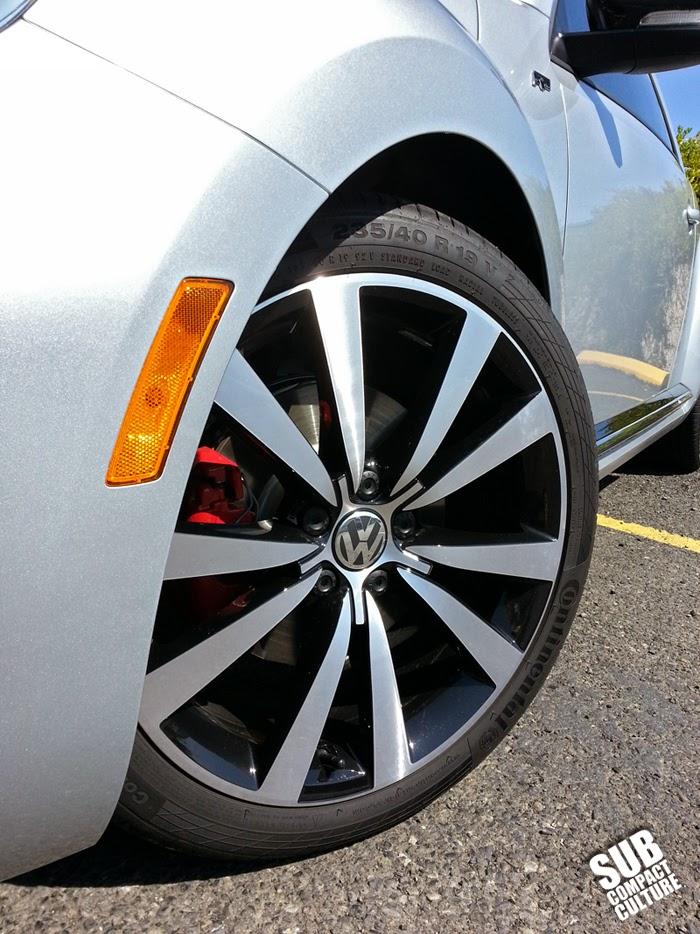 2014 VW Beetle R-Line 19-inch wheel