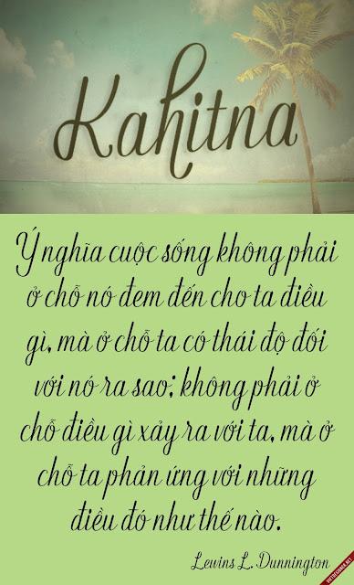 [Script] Kahitna Việt hóa