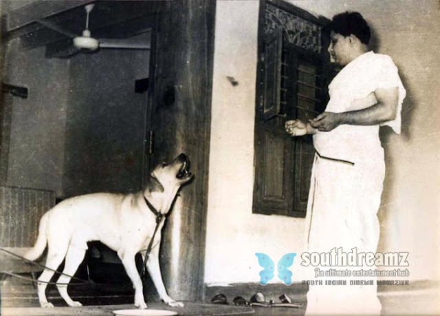 MGR and his dog