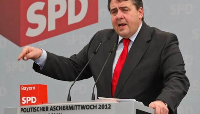 """Γερμανός αντικαγκελάριος: """"Τα δύο διεφθαρμένα κόμματα ΠΑΣΟΚ και ΝΔ κατέστρεψαν την Ελλάδα"""" (αυτοί που στηρίζουν το """"ΝΑΙ"""")!"""