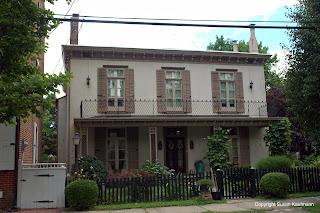 US Grant house, Burlington, NJ