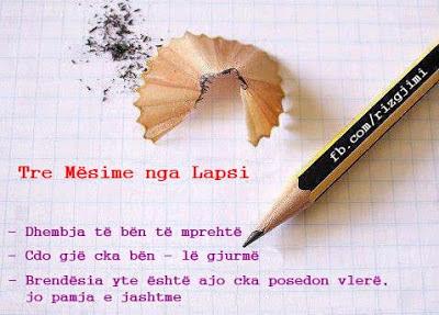 Tre mësime nga lapsi,lapsi shqip