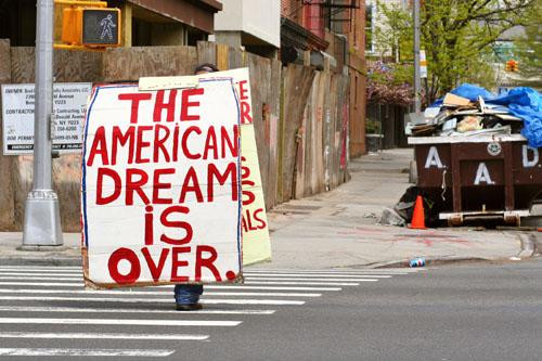 """Résultat de recherche d'images pour """"la fin du rêve américain"""""""