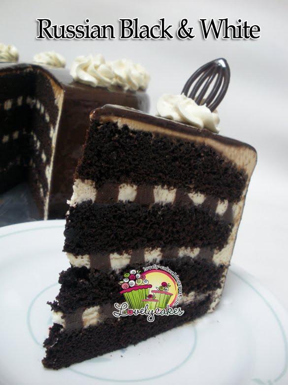 Lovely Cakes: Russian Black & White Cake
