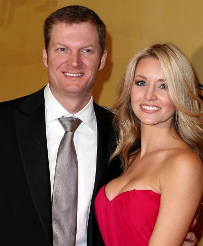Dale Earnhardt Jr & His Girlfriend Amy Reimann | Sports Stars