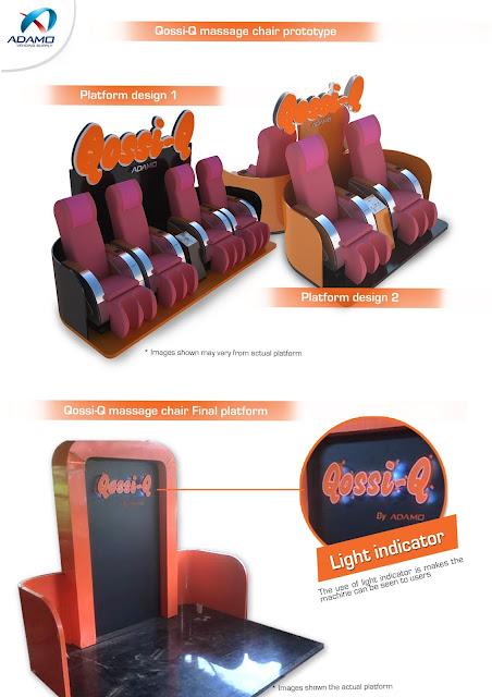 Massage Chair Vending Machine