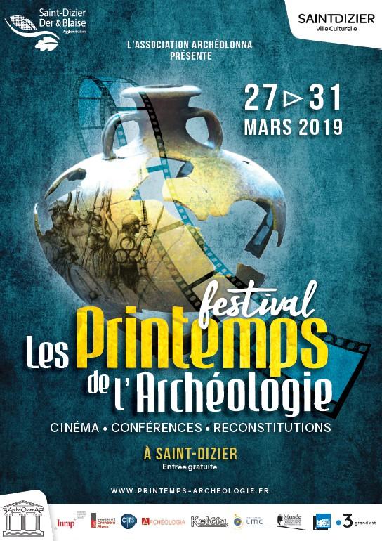 Festival les Printemps de l'Archéologie