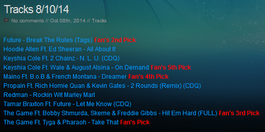 Download [Mp3]-[NEW TRACK RELEASE] เพลงสากลเพราะๆ ออกใหม่มาแรงประจำวันที่ 8 October 2014 [Solidfiles] 4shared By Pleng-mun.com