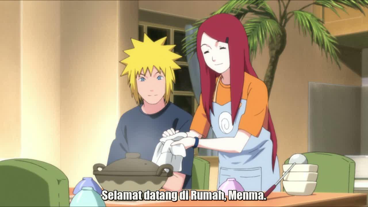 Naruto the movie : road to ninja - selamat datang di rumah menma