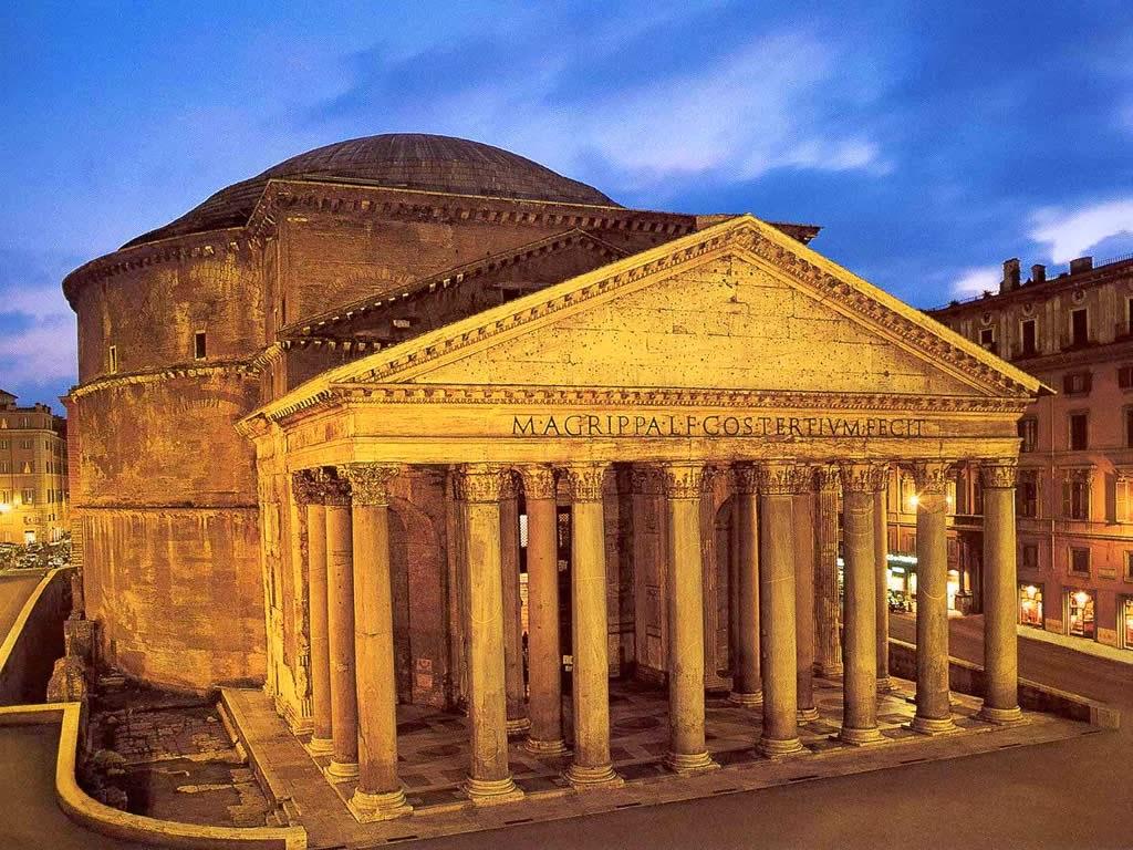 Maravillas del mundo antiguo xv el pante n de agripa for Arquitectura del mundo antiguo