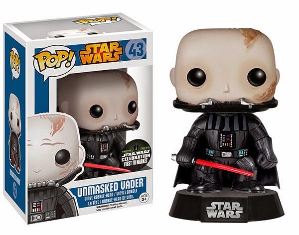 Funko Pop! Unmasked Darth Vader