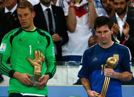 Messi Pemain Terbaik Piala Dunia 2014