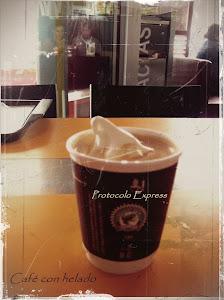 Café con helado...