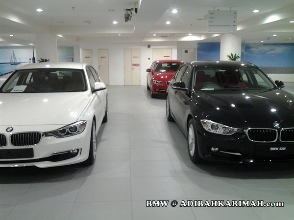 CDM Adibah at BMW to buy new F30 320i as for premium beautiful business car