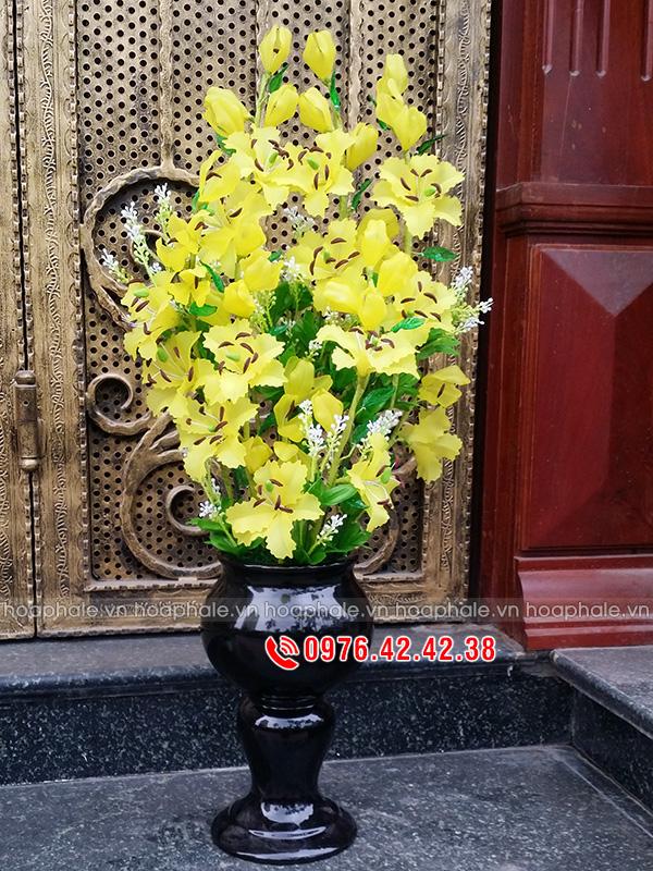 Hoa ly vàng - hoa pha lê