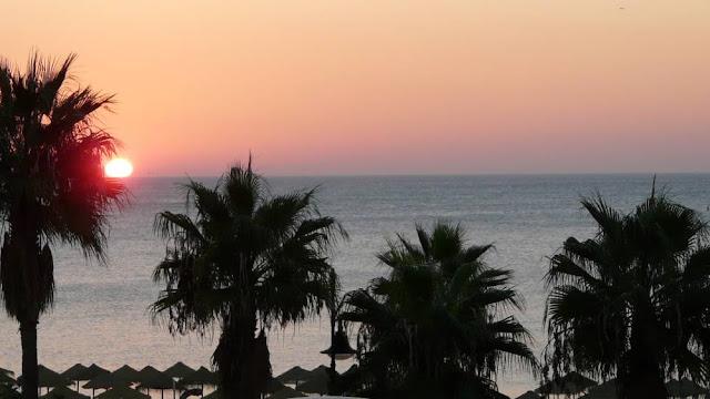 Wschód słońca w Torremolinos - Costa del Sol