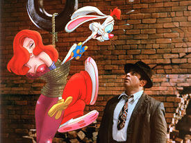 who framed roger rabbit written by gary k wolf jeffrey price and peter seaman and directed by robert zemeckis is a movie about a hating toon detective - Who Framed Roger Rabbit Full Movie