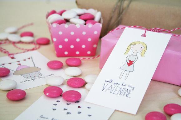 Valentinstag - DIY Grußkarten