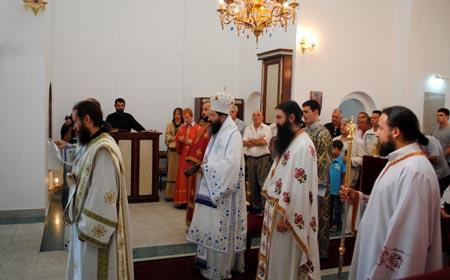 Освећење храма у шаркамену, 2013. лета Господњег