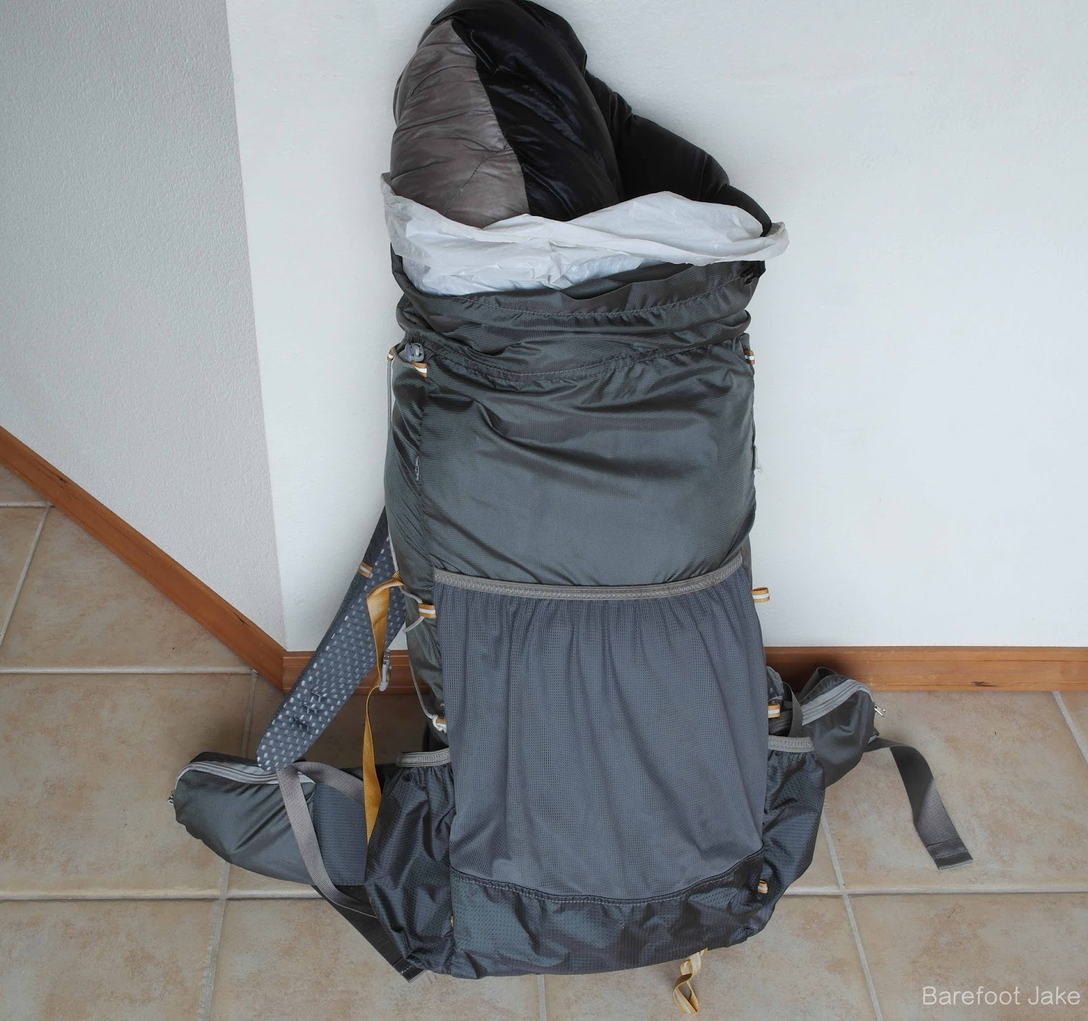 sleeping bag dry