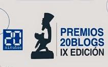 20 minutos premios 20 blogs ix edición