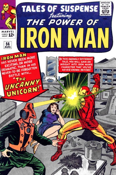 Tales of Suspense #56, Iron Man vs the Unicorn