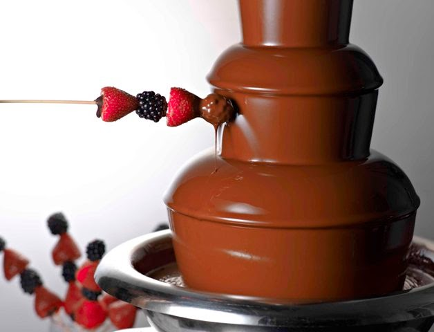 harvest of the sea chocolate fondue dinner buffet