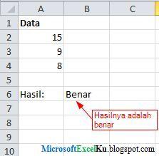 Belajar Ms Excel, Belajar Rumus Formula IF di Excel 2007, 2010, 2013