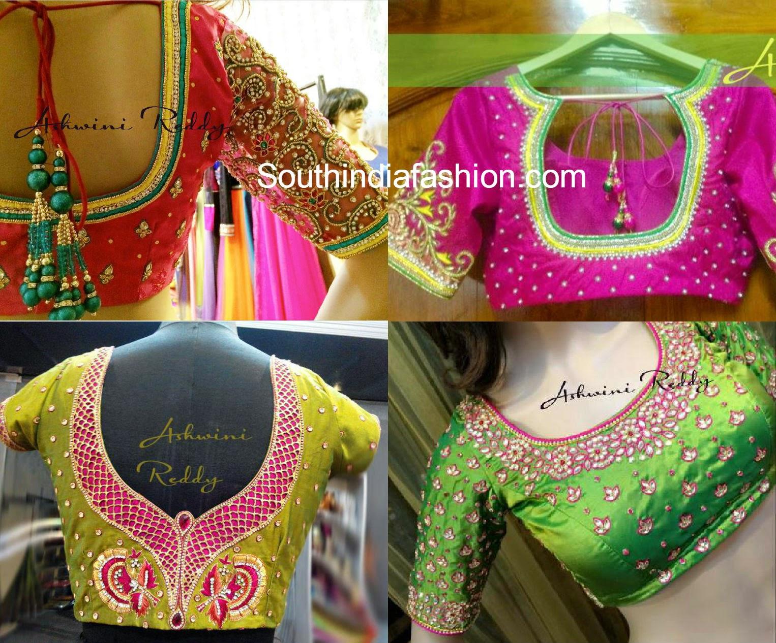blouse designs for kanjeevaram sarees