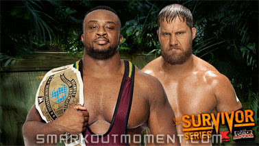 Intercontinental Big E Langston Champion wins title Curtis Axel Survivor Series 2013